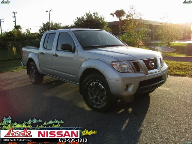 Pre Owned 2017 Nissan Frontier Desert Runner 4d Crew Cab In North